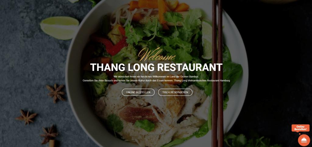 thang long restaurant